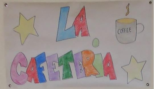 CAFETERÍA LETRERO