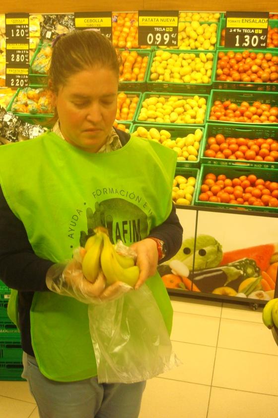 Ana prefiere plátanos