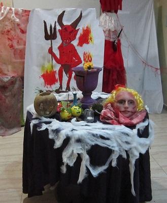 La mesa de los conjuros
