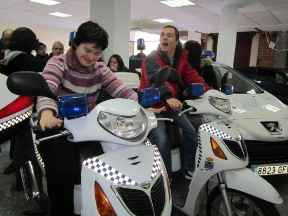 En las motos