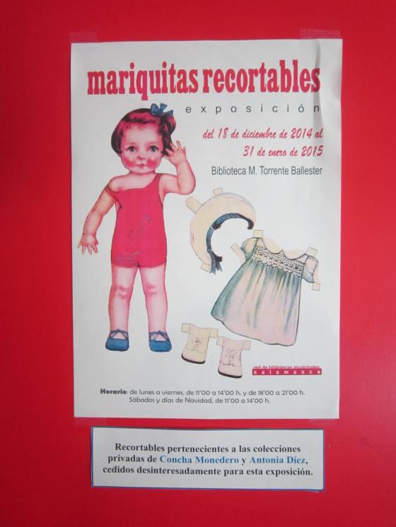 El cartel de la exposición