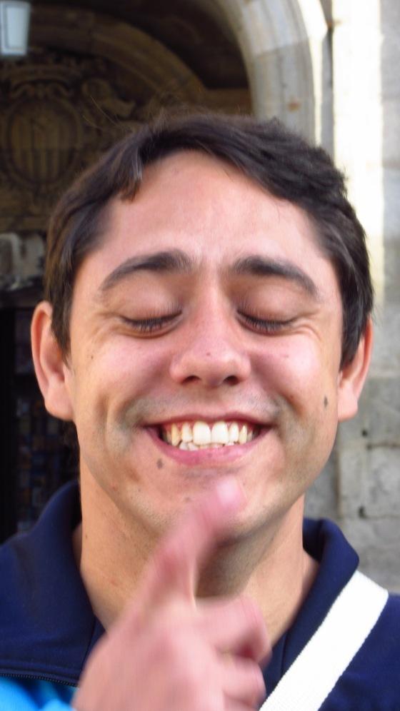 David, repartidor de felicidad