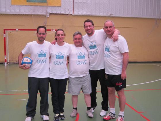 Equipo SLM CEE: Javier, Vero, Miguel, Carlos, Antonio, Adrián
