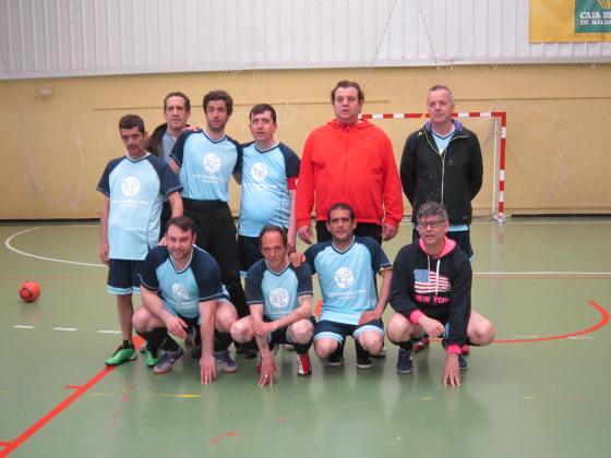 Equipo FEAFES: Nacho, Oscar, A. Luis, Luis, Paulino, Antonio, Javier, José Miguel