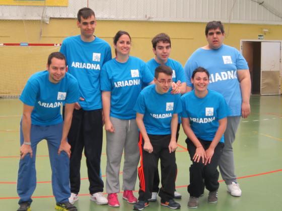 Equipo de ARIADNA:Diego, Verti, José, Dani, Sergio, Laura, Marta, Javi