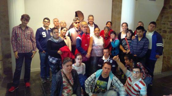 Foto de grupo con Francisco. Gracias por acompañarnos, Paco :D